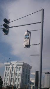 Новые дорожные знаки в Намангане